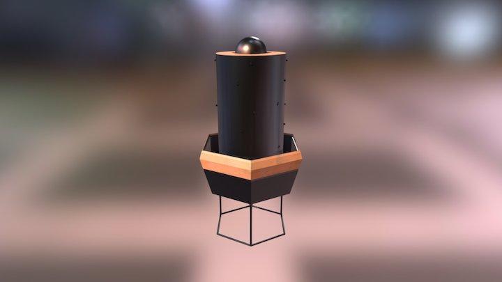 Vermi-composter 3D Model