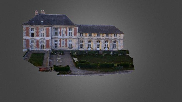 Château de Vallery 3D Model