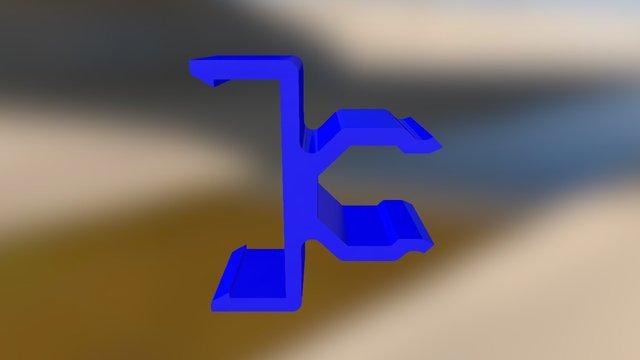 Ferrite Bracket 3D Model