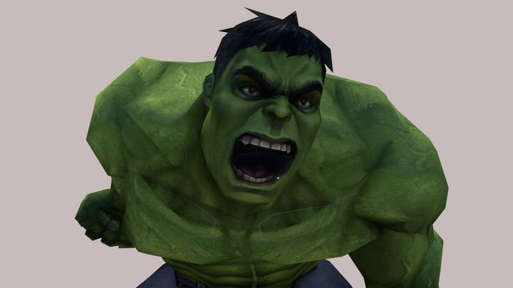Hulk | Real Animtions | By Im HaxoTV 3D Model