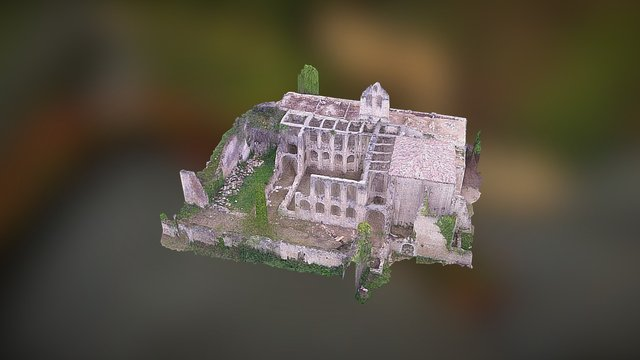 MONASTERIO DE RIOSECO 1 3D Model