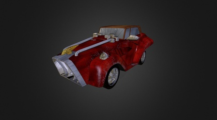 MegaCar 3D Model