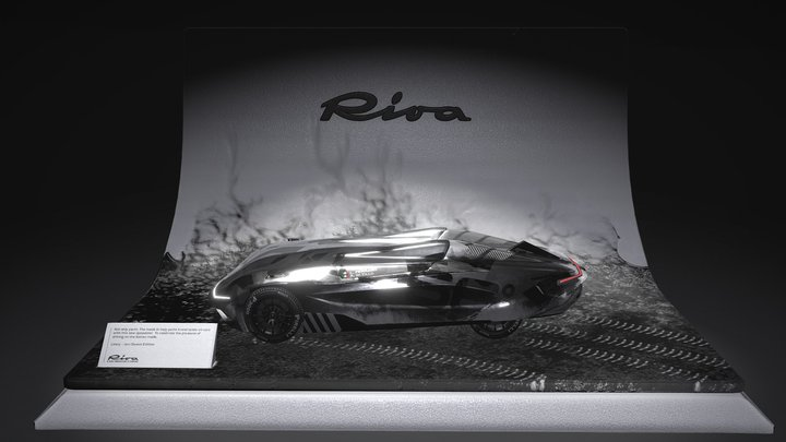 Riva Speedster 3D Model