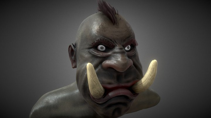 Orcish Hell's Cream 3D Model