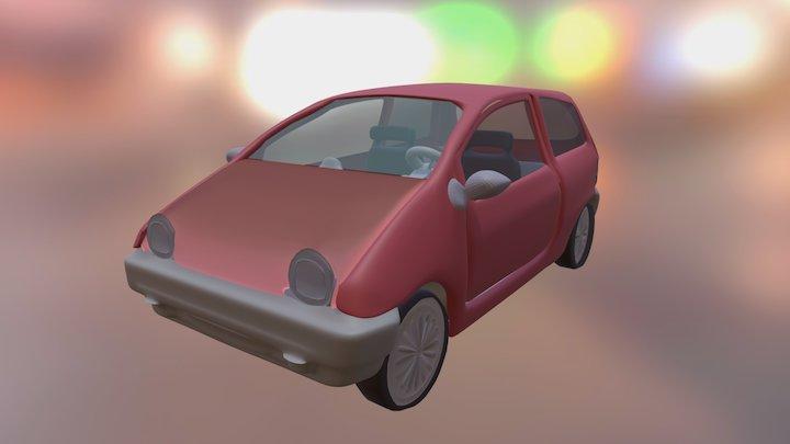 Twingo Auto 3D Model