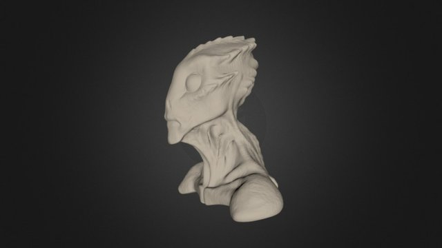 Aquatic Speedsculpt 3D Model