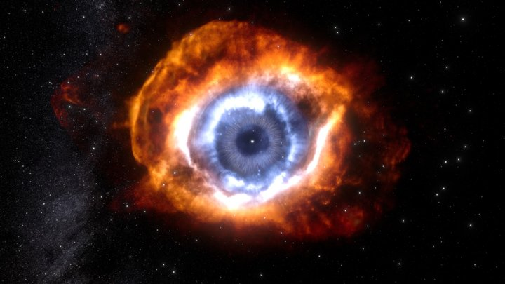 The Helix nebula, the last breath of a star 3D Model