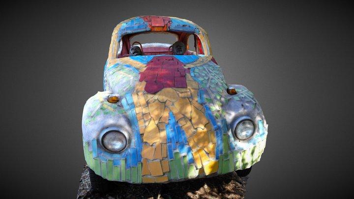 VW Bug 3D Model
