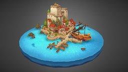 Silvercoast Harbor 3D Model