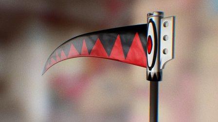 Soul Eater - Soul Scythe 3D Model