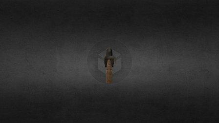 Grenade Launcher w diffuse texture 3D Model