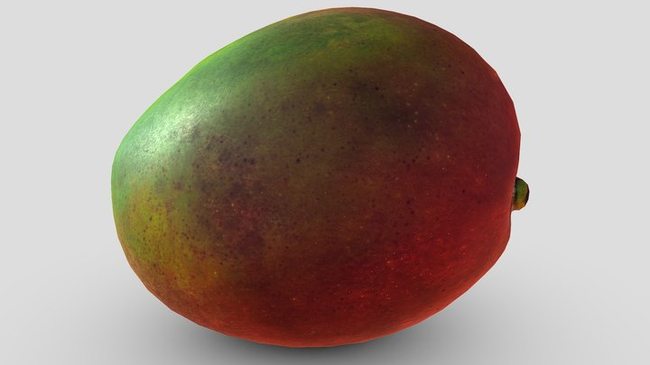 Mango (Free download) 3D Model
