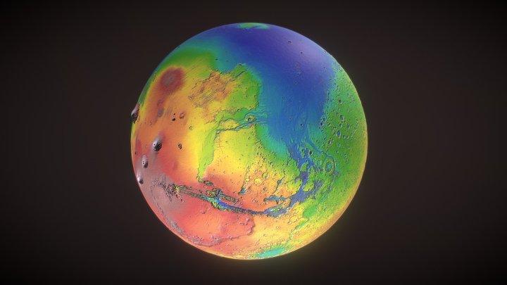 Mars [USGS Image Test] 3D Model
