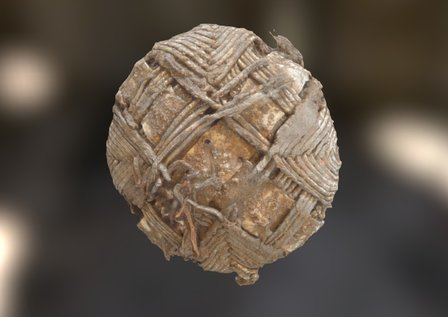 Leiston Abbey 2014 Finds: 18th century button 3D Model