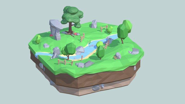 The River 3D Model