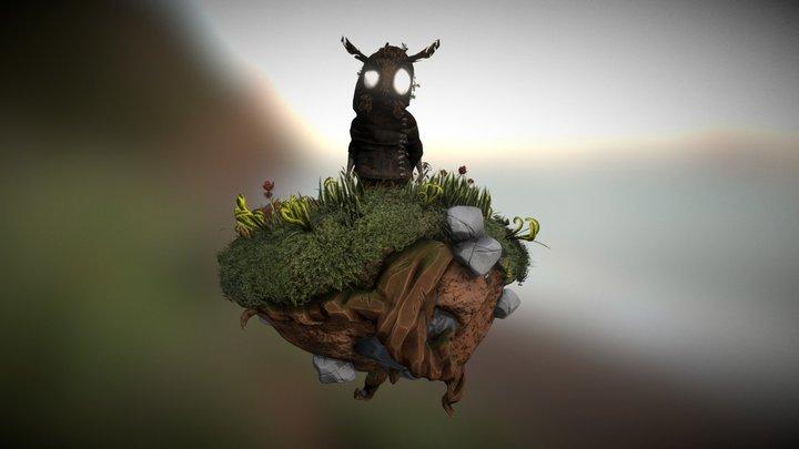 Owl-Kid 3D Model