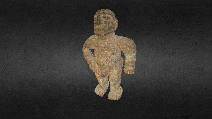 Modelisation de statuette archéologique 3D Model