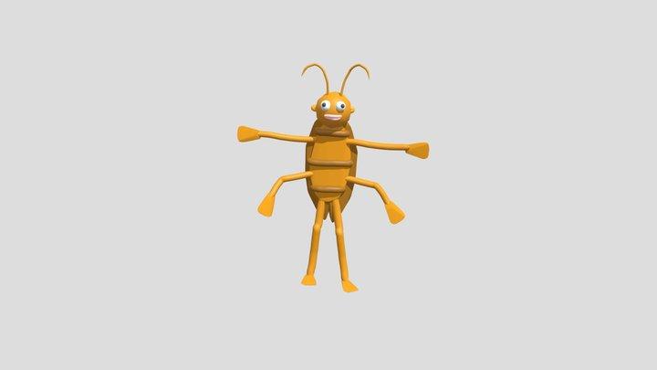 Cockroach3 3D Model