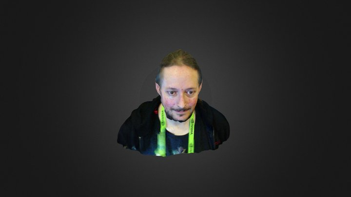 Aaron at Siggraph 3D Model