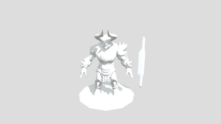 Amael Gladiator 3D Model