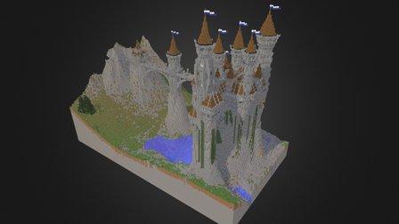Mount Castle 3D Model