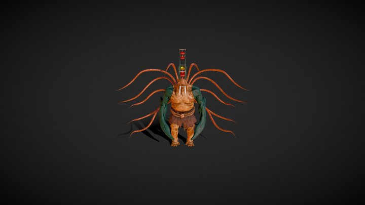 naaora monster 3D Model
