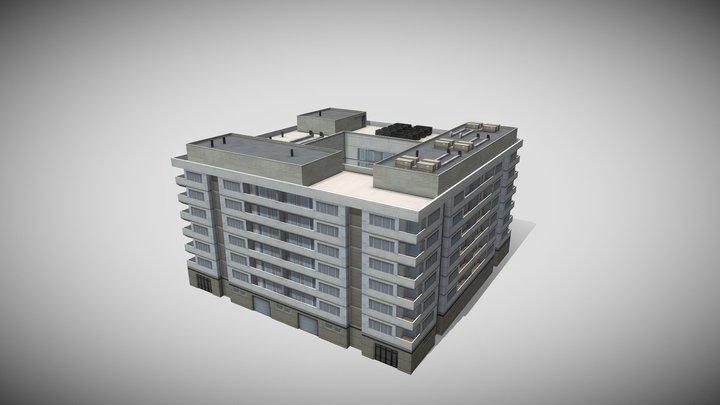 Low Rise Modern Condo 2 3D Model