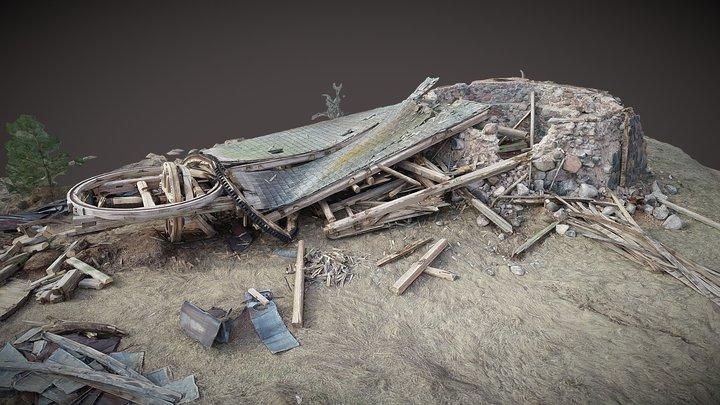 Lost windmill / Prarastas malūnas. Pakapinė 3D Model
