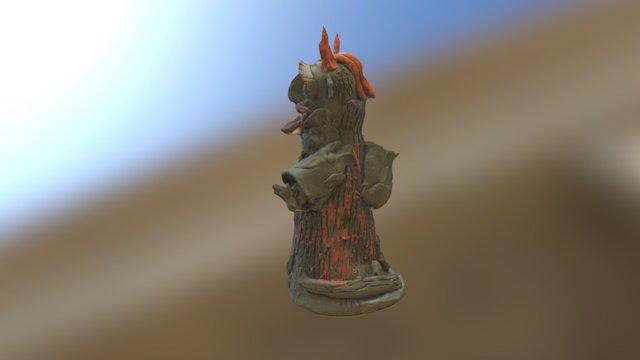 A Devil 3D Model