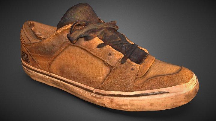 Skate Shoes - Vans Anti-Hero 3D Model