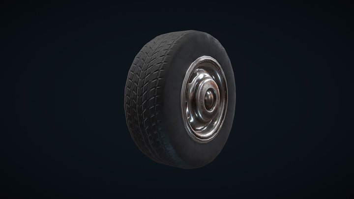 Wheel prop 3D Model