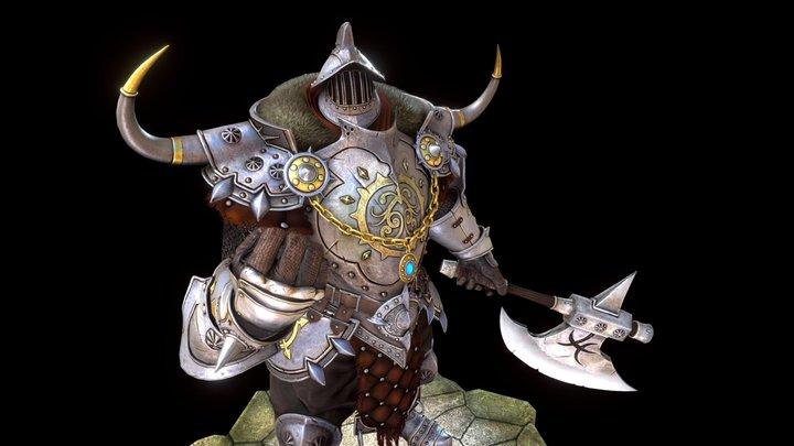 Knight: Fan Art 3D Model