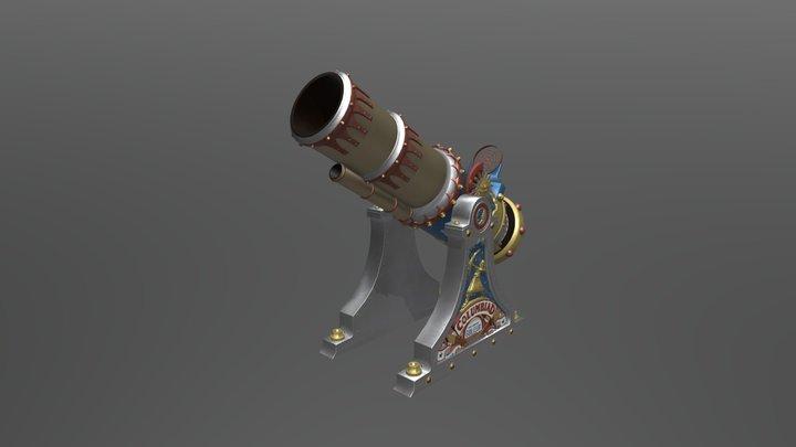 Columbiad 3D Model
