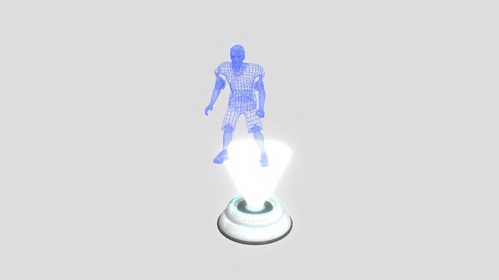 Hologram Device 3D Model