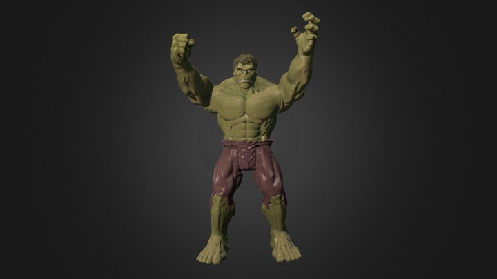 Hulk .PLY - Scan in a Box 3D Model