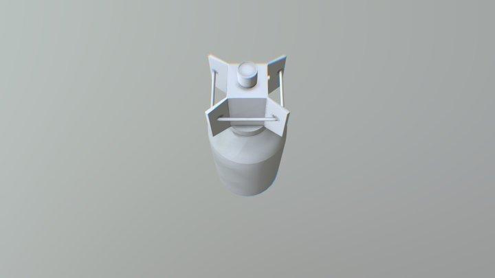 Glide Bomb 3D Model