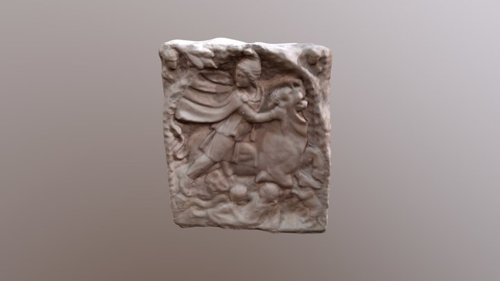 Mithras Relief (with Audio Guide) 3D Model