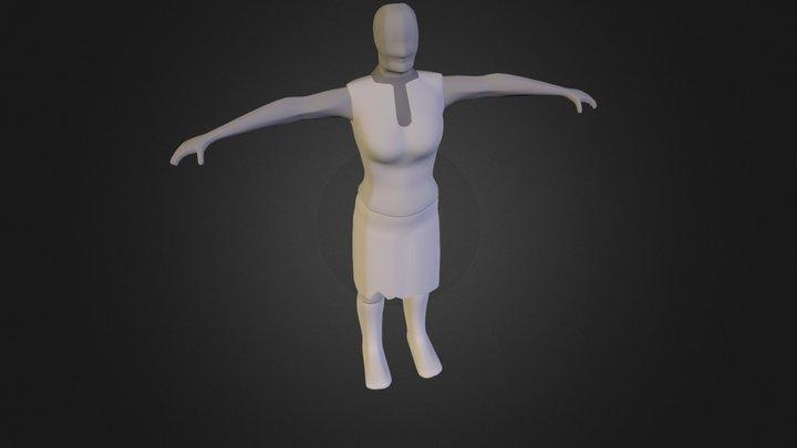 Base Mesh Draft 2 3D Model