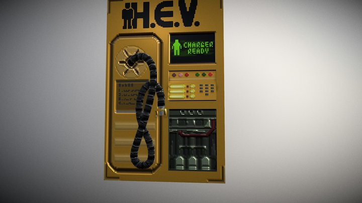 HEV Chargers 3D Model
