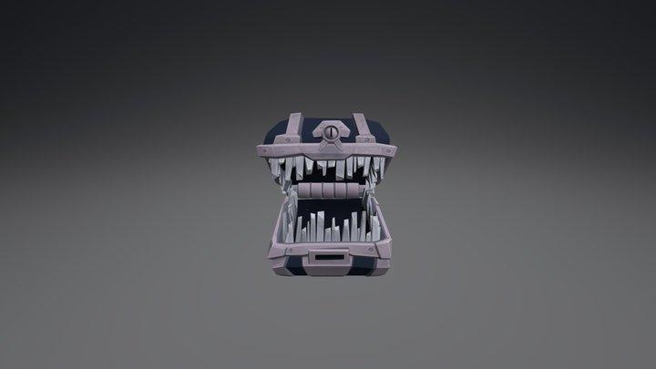 Boo Booty 3D Model