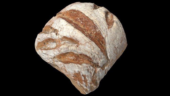 "French Bread - ""Le Bûcheron"" (""the lumberjack"") 3D Model"