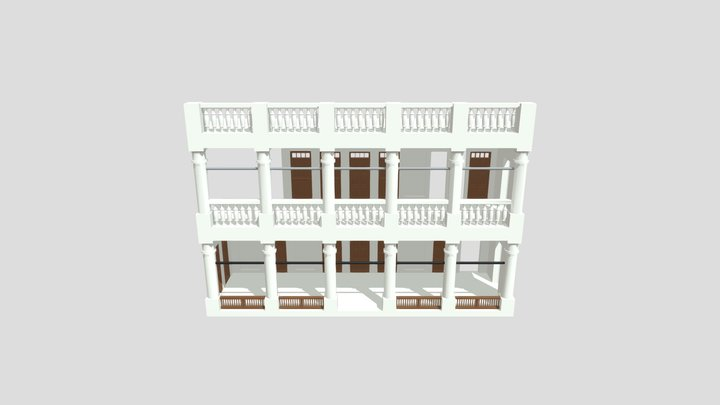 House AL- Fadhel V2 3D Model