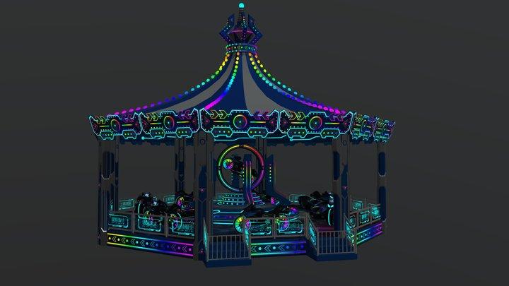 quick knight 3D Model