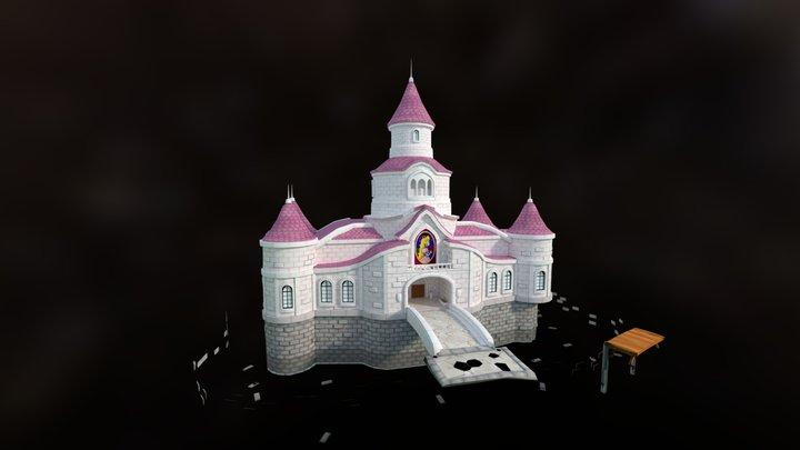 Castle Baked Wip 3D Model