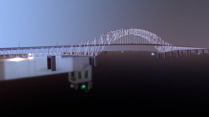 Bridge Of The Americas, Panama 3D Model