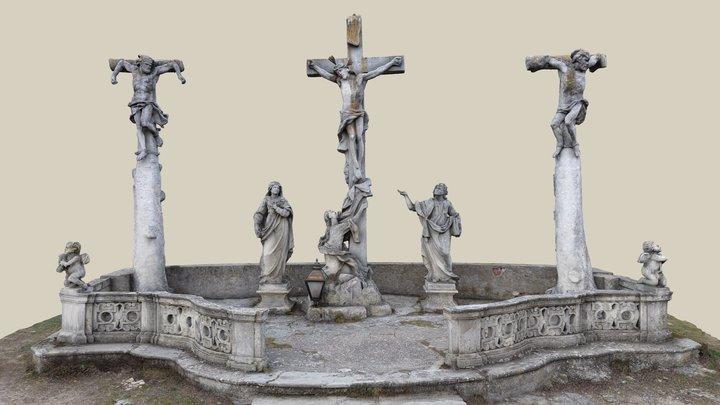 Kreuzigungsgruppe 3D Model