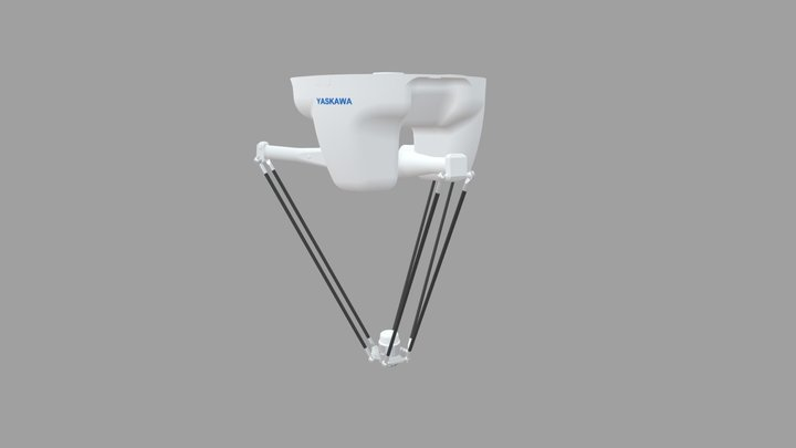 YASKAWA Robot No. MPP3H 3D Model