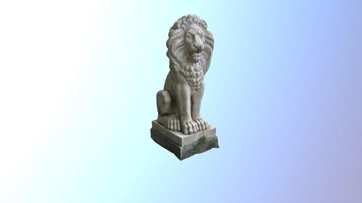 Pavlovsk Lion 3D Model