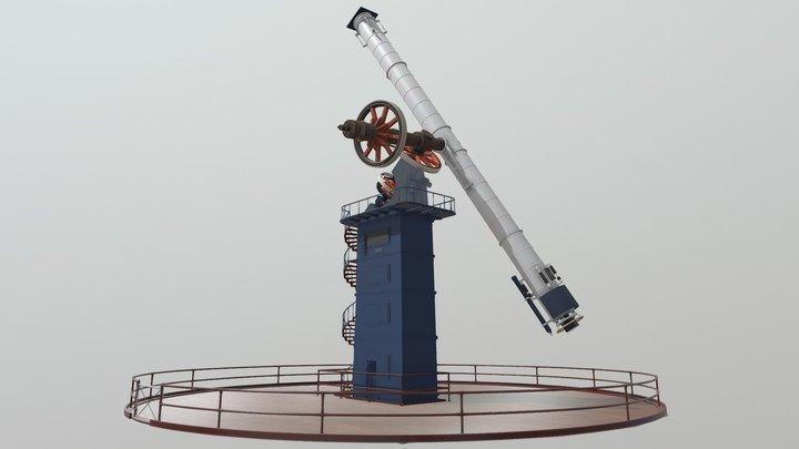 Yerkes Observatory Telescope 3D Model
