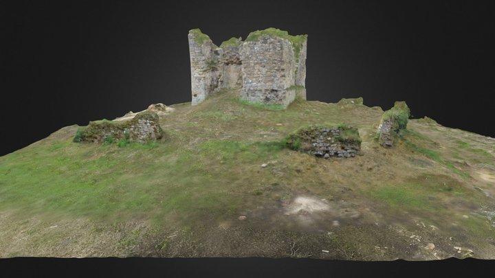 Lochore Castle 3D Model